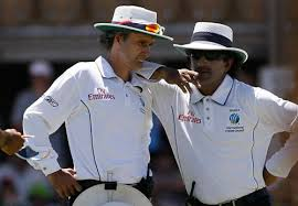 Asad Rauf and Billy Bowden