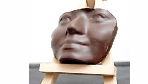 3D printer creates chocolate sculpture of your face