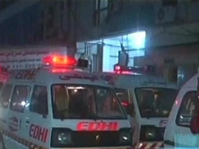 Karachi, Baldia Town Main Firing Sy Police Aihlkar Ka Beta Jan Behk, Biwi Aur 3 Bachy Zakhmi