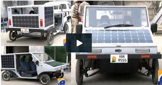 Solar Energy Car