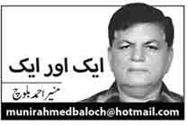 Munir Ahmed Baloch