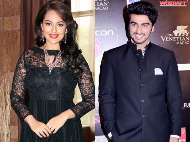 Sonakshi And Arjun Kapoor