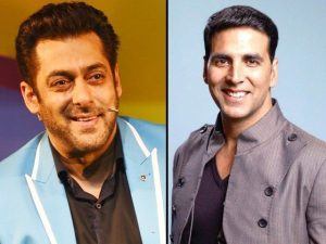 Salman Khan and Akshay kumar